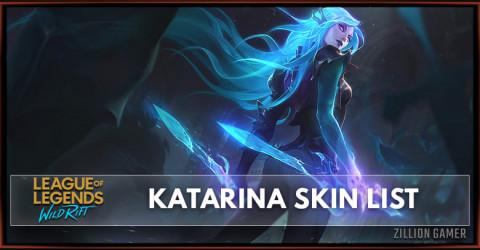 Katarina Skins List in Wild Rift