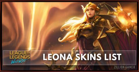 Leona Skins List in Wild Rift