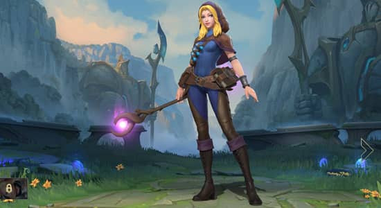 League of Legend Wild Rift Spell Theif Lux skins - zilliongamer