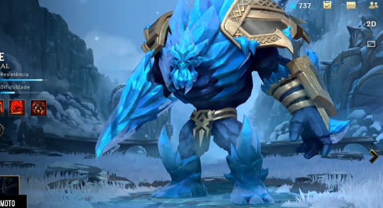 League of Legends Wild Rift Malphite Glacial Skins - zilliongamer