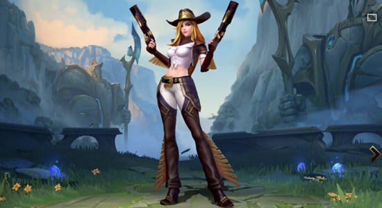 League of Legends Wild Rift Miss Fortune Cowgirl skin - zilliongamer