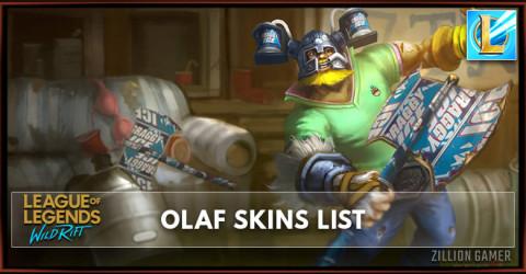Olaf Skins List in Wild Rift