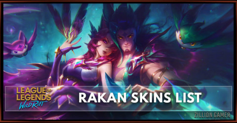 Rakan Skins List in Wild Rift