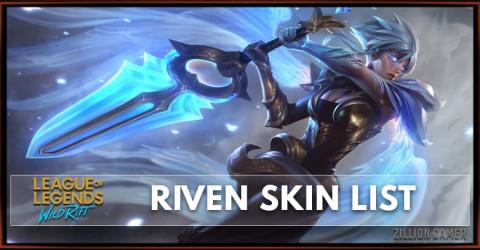 Riven Skins List in Wild Rift