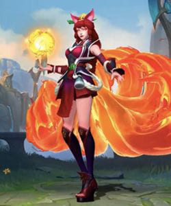 League of Legends Wild Rift Skins: Ahri Champion - zilliongamer