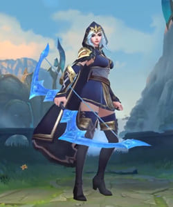 League of Legends Wild Rift Skins: Ashe Champion - zilliongamer