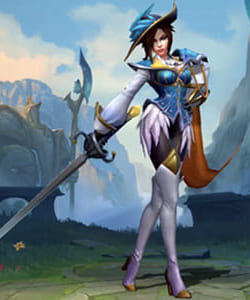League of Legends Wild Rift Skins: Fiora Champion - zilliongamer