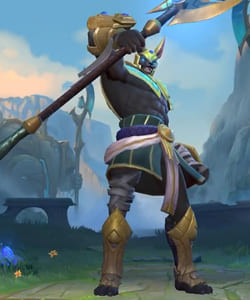 League of Legends Wild Rift Skins: Nasus Champion - zilliongamer