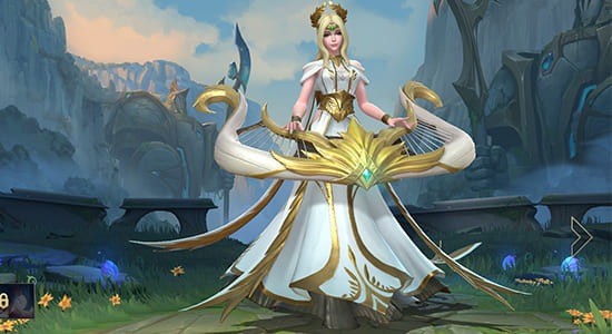 League of Legends Wild Rift Muse Sona Skins - zilliongamer