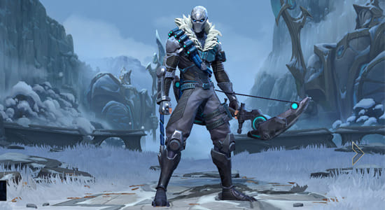 League of Legends Wild Rift Arctic Ops Varus skin - zilliongamer