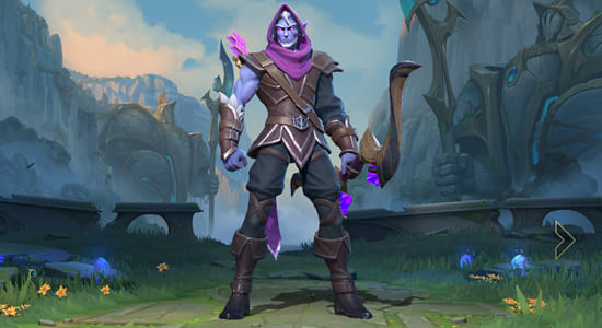 League of Legends Wild Rift Varus Swiftbolt skin - zilliongamer
