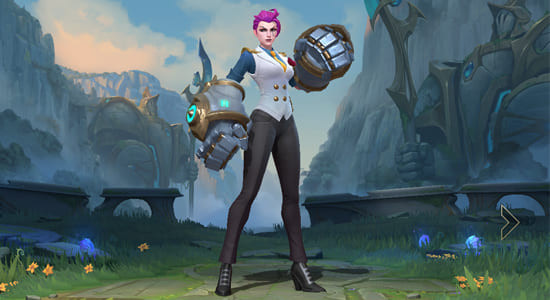 League of Legends Wild Rift Debonair Vi skin - zilliongamer