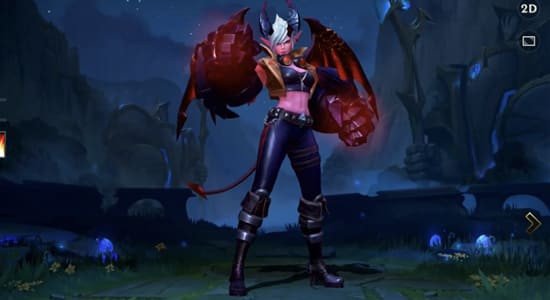 League of Legends Wild Rift Vi Demon skin - zilliongamer