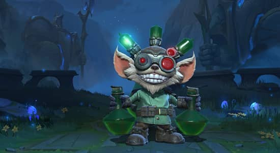 League of Legends Wild Rift Mad Scientist Ziggs skins - zilliongamer