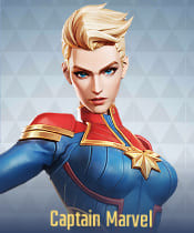 Marvel Super War Characters: Captain Marvel - zilliongamer