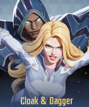 Marvel Super War Characters: Cloak & Dagger - zilliongamer