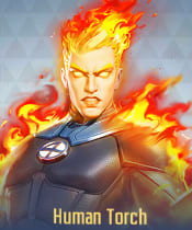 Marvel Super War Characters: Human Torch - zilliongamer