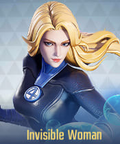 Marvel Super War Characters: Invisible Woman - zilliongamer