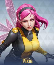 Marvel Super War Characters: Pixie - zilliongamer