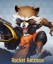 Marvel Super War Characters: Rocket Raccoon - zilliongamer