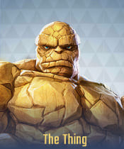 Marvel Super War Characters: The Thing - zilliongamer