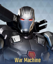Marvel Super War Characters: War Machine - zilliongamer