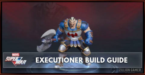 Marvel Super War Executioner Build Guide