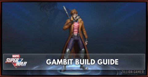 Marvel Super War Gambit Build Guide