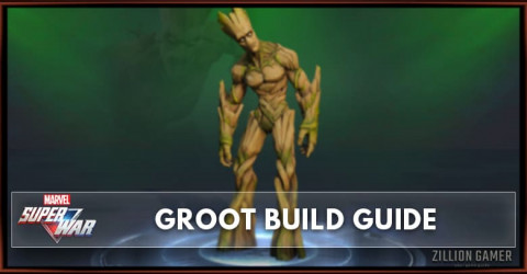 Marvel Super War Groot Build Guide