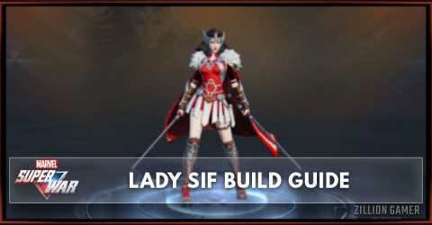 Marvel Super War Lady Sif Build Guide