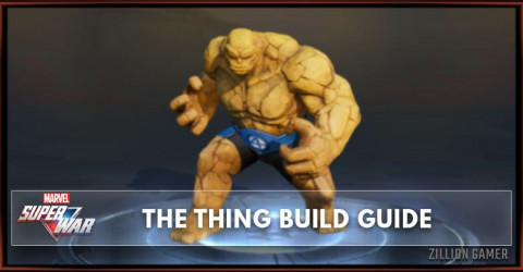 Marvel Super War The Thing Build Guide