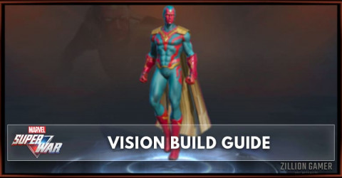Marvel Super War Vision Build Guide