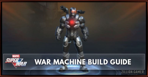 Marvel Super War War Machine Build Guide