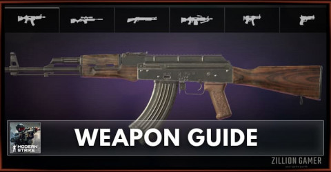 Modern Strike Online Weapon Guide