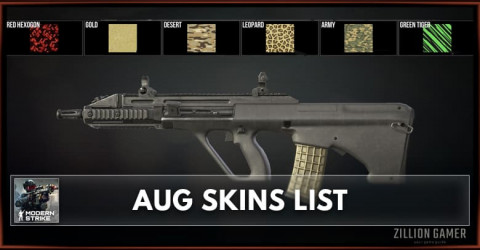 Modern Strike Online AUG Skins List