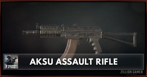 AKSU Assault Rifle Stats, Attachments & Skins