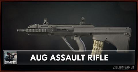 AUG Assault Rifle Stats, Attachments & Skins
