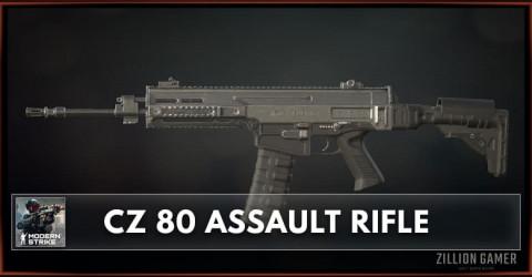 CZ 80 Assault Rifle Stats, Attachments & Skins