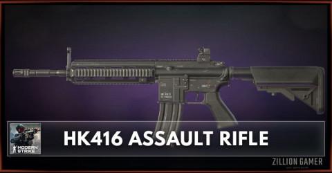 HK416 Assault Rifle Stats, Attachments & Skins