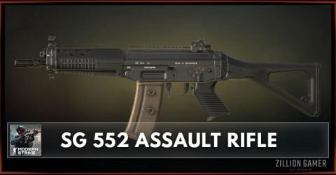 SG 552 Assault Rifle Stats, Attachments & Skins