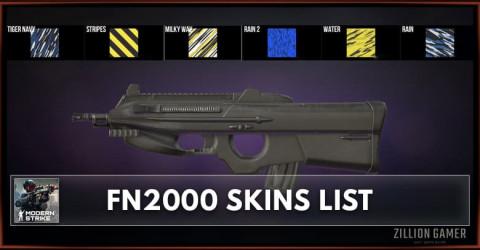 Modern Strike Online FN2000 Skins List
