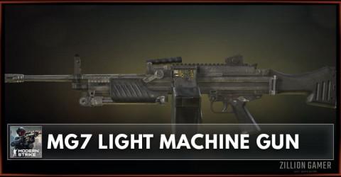MG7 Light Machine Gun Stats, Attachments & Skins