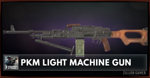 PKM Light Machine Gun Stats, Attachments & Skins