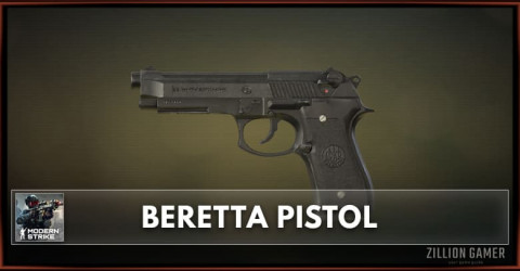 Beretta Pistol Stats, Attachments & Skins