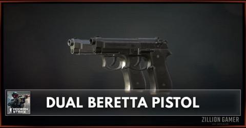 Dual Beretta Pistol Stats, Attachments & Skins