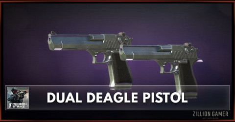 Dual Deagle Pistol Stats, Attachments & Skins
