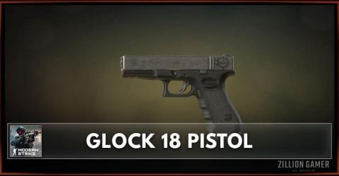 Glock 18 Pistol Stats, Attachments & Skins