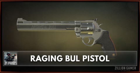 Raging Bull Pistol Stats, Attachments & Skins