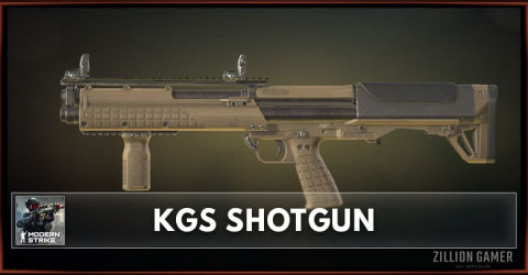 KGS Shotgun Stats, Attachments & Skins
