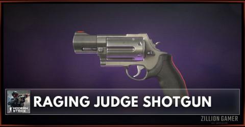 Raging Judge Shotgun Stats, Attachments & Skins